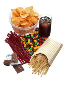 junk food and diet